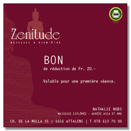 Bon Zenitude Massage